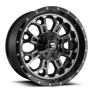 CRUSH 6LUG 20X9 DDT W GLOSS BLK A1 3001