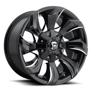 C STRIKER 17X9 GLOSS BLK MILLED A1 3001