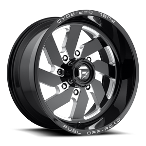 FC Turbo 20x10 Blk and Milled A1 3004