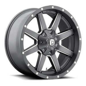 Fuel Maverick Grey Milled 20x9 A1 3001