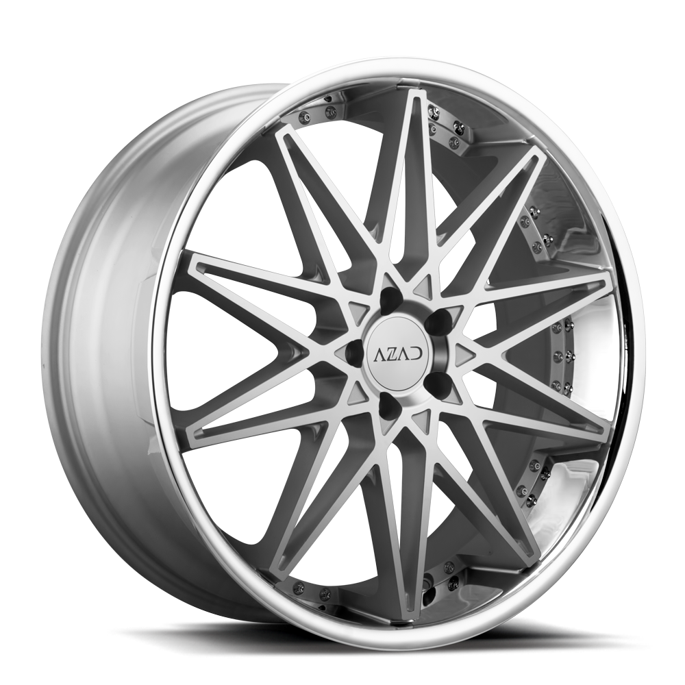 az41 brushed face silver 22x9 22x105